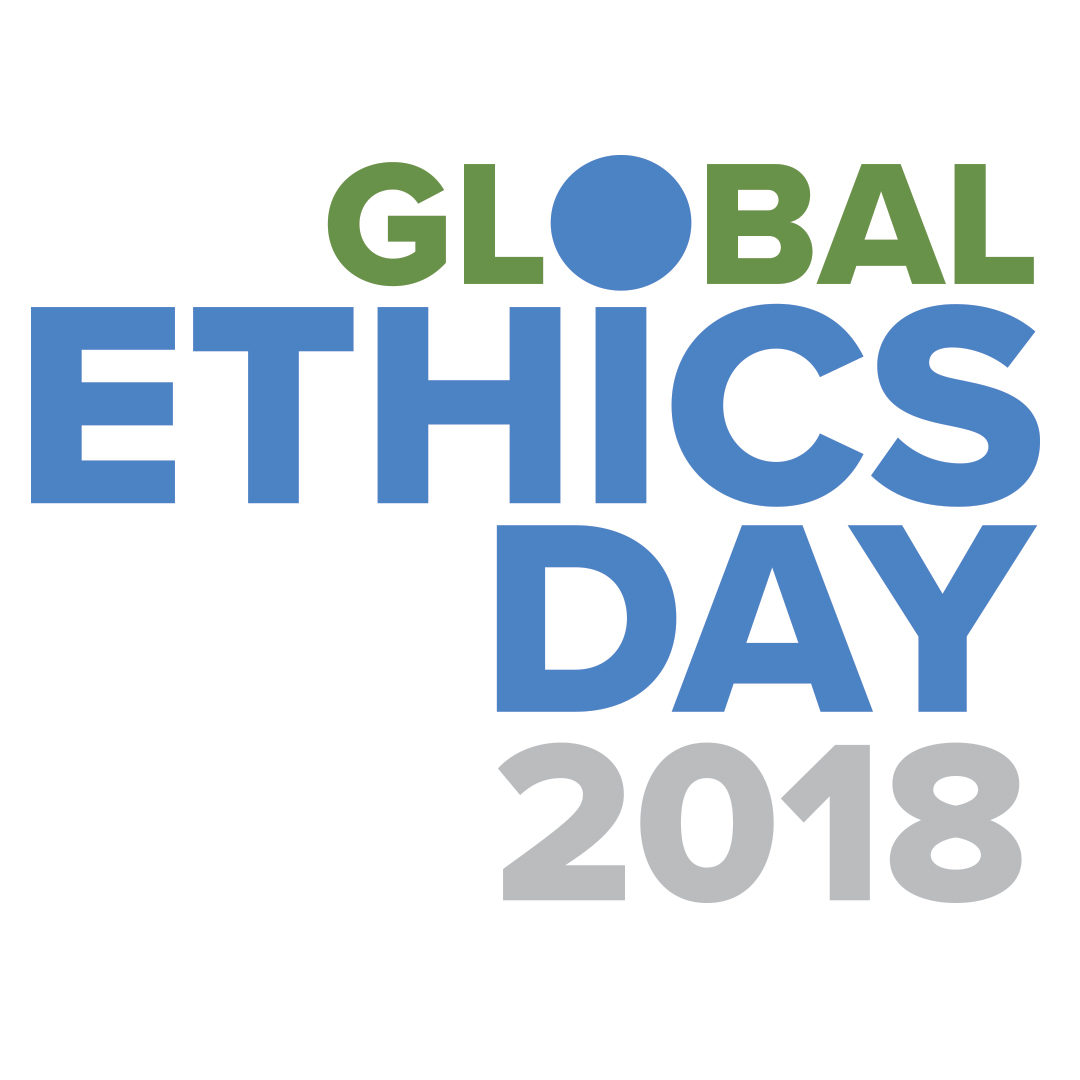 logo / global ethics day