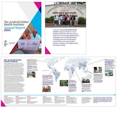 annual report / arnhnold global health initiative