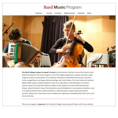 website / bard music program