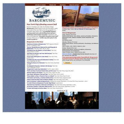 website / bargemusic