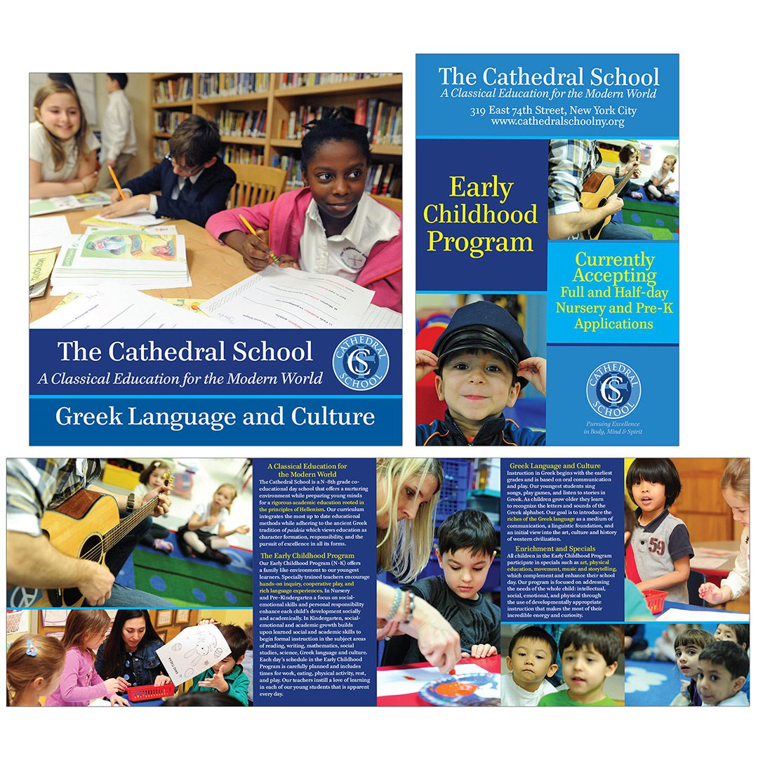 outreach materials / cathedral school