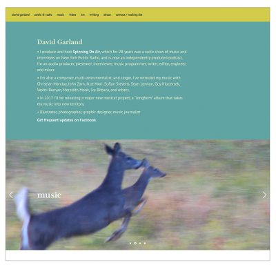 david garland website