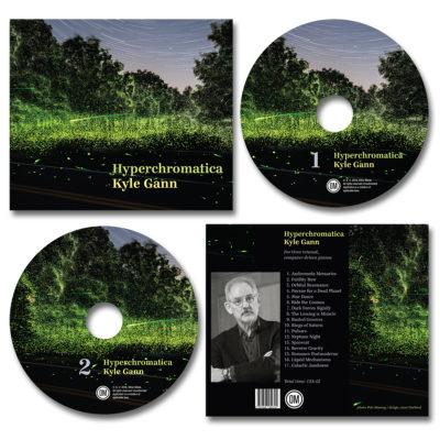 package design / hyperchromatica CD