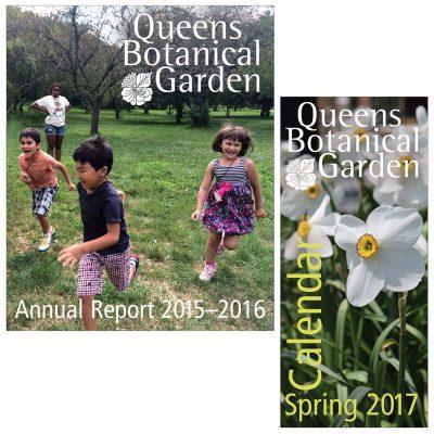 print materials / queens botanical garden