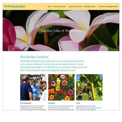 website / rockledge gardens