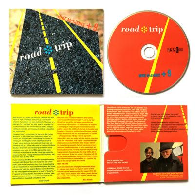 package design / roadtrip CD