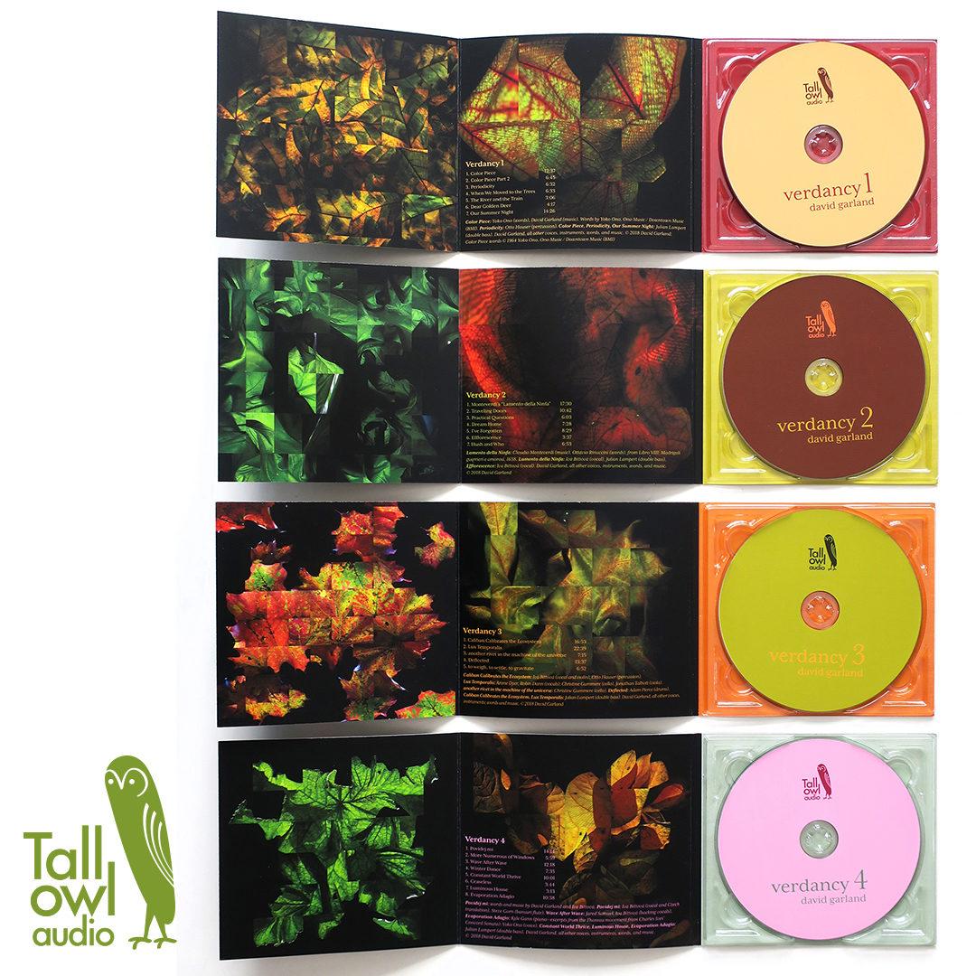 package design / verdancy CD